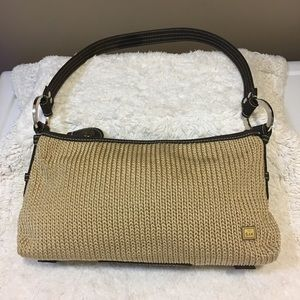 The Sak small crochet nylon small shoulder bag.